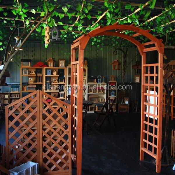 Modern Garden Decorative Outdoor Garden Arch Wood Pergola