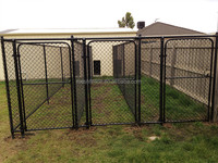 China manufacturer wholesale high quality cheap outdoor dog kennel designs (promotion products)