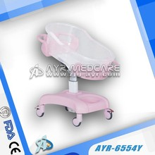 Pink ABS Baby cot