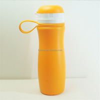 factory direct 500ML advanced silicone sports bottle bpa free