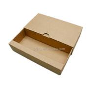 China suppliers kraft packaging box cardboard sliding paper gift box