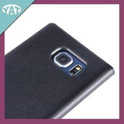 New design leather flip case for Samsung S6, leather flip phone case for S6 witch card holder