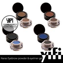 2015 New products longlasting naras eyebrow&eyeliner gel sugar box name brand eyeliner