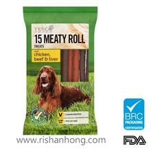 wagg pet dog food bag