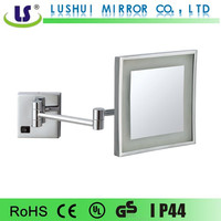 hot selling folding decorative wall led bathroom mirror