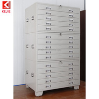 High Quality Drawing Chest Metal Drawers Plan Cabinet Draftsman Storage Cabinet