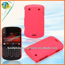 Rubberized mobile phone case For Blackberry Bold 9900 9930