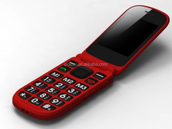 simple function old people flip mobile, sos emergency call 3G wcdma cell
