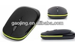 USB 2.4G wireless flat optical mouse for computer recommended by shopkeeper