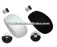 2014 high quality IP68 waterproof silicone high-tech wireless mouse