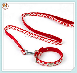 Pet products wholesale leash dog collar leather