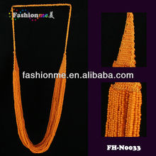 multilevel necklace ,Plain and simple seed bead necklace