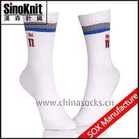 Sports White Days of A Week Socks