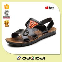 2015 latest style PU sole chappal peshawari chappal leather shoes