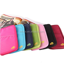Travel document bag / passport wallet / credit card pocket