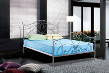 Strong and durable double metal iron bed