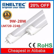 Cheap price aluminum cover nature white cool white 120cm 18 watt led tube