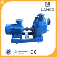 Hot Selling P series 4 inch non clogging centrifugal self-priming electric water pump