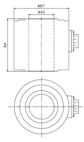 Sc490b Tall Through Hole Bolt Load Cell In Sensors Buy