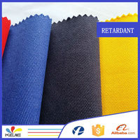 Woven twill cotton conductive static free fabric for workwear