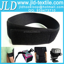 New black top quality welcro elastic tie down strap