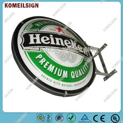 thermoformed advertising creative beer displays light box