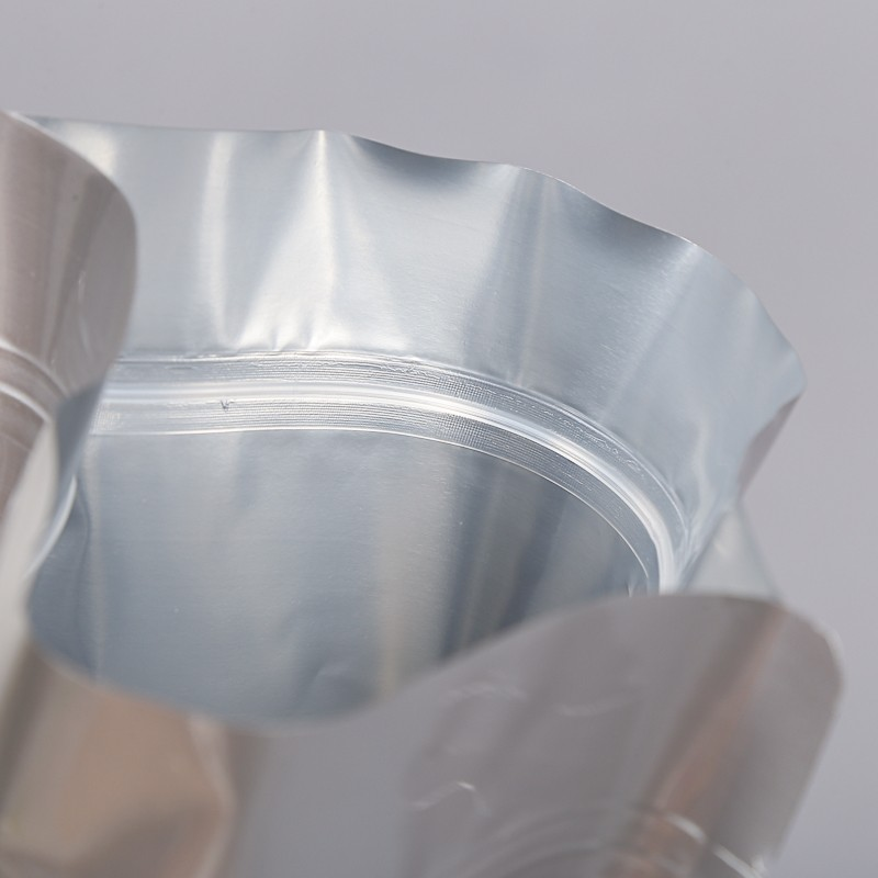 Smell Proof Mylar Foil Pouches Zip Lock Aluminum Foil Bags With Heat Seal