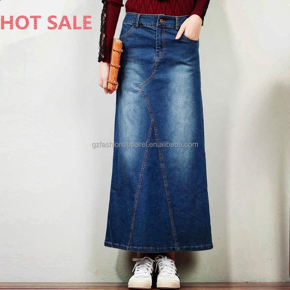 fashion jean skirt denim jean wholesale denim