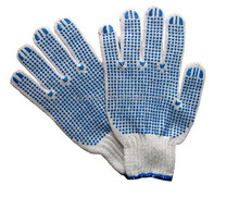 Laminate Latex Film Gloves Coated With Dry Latex And Rubber