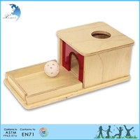 Montessori school Infant and Toddler early age teaching tools assembled child toy