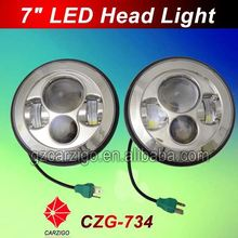 best sale product wholesale price lamp 7 inch LED motorcycle with hi lo beam