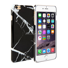Marble print case for iPhone 6 Plus 5.5 inch, for iphone black marble case, China supplier