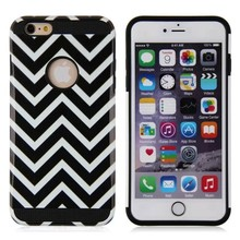 Classic Design stripes pattern pc hard case for iphone 6