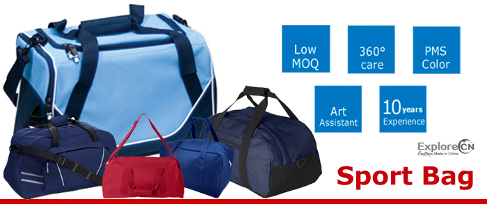 10 Years Experience Manufacture Sports Duffle bag