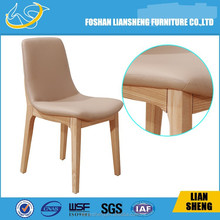 Luxury White Wood Louis XV Chair For Dining Chair DC011