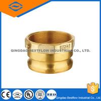 Brass Cam Groove Hose Adapter