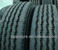 Radial heavy TBR dump truck tire and wheels 295/80R22.5