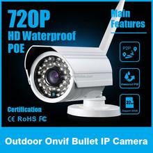 CCTV Camera System 1 Megapixel CMOS Weatherproof Auto Focusing IP Camera