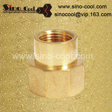 reduce female connector brass fitting refrigeration and air conditioning
