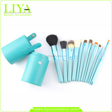 Make Up Brushes Set Synthetic Hair Private Label Makeup Brush With Case