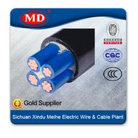 YJV / YJV22 /YJLV /YJLV22 /zr yjv 0.6/1KV 3+2 cores CU/AL/XLPE/PVC/SWA power cable
