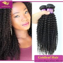 6A gorgeous afro kinky curly cheap brazilian hair weave bundles
