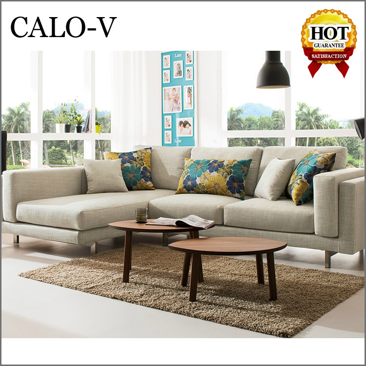 2015 china new model living room furniture couch corner