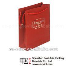 2012 new design 4 color printing paper bag