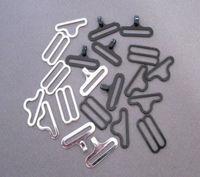 Wholesale lead free bow tie clips wholesale bowtie buckle