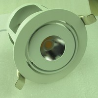 3 year warranty round cob led downlight dimmable 20w 2015 New design unique housing