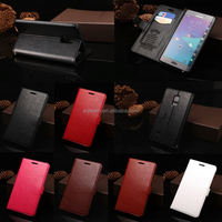 Hot Selling New Arrival PU Leather Case For Samsung Galaxy Note Edge Wallet Leather Case