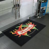New Custom Chromojet Photo Printed Door Floor Logo Mat