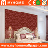 2015 Myhome beautiful desinger decorative pvc wallpaper