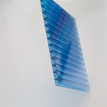 unbreakable glass greenhouse polycarbonate hollow sheet for Shopping mall